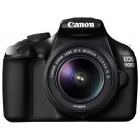 Фотоаппарат Canon EOS 1100D Kit 18-55